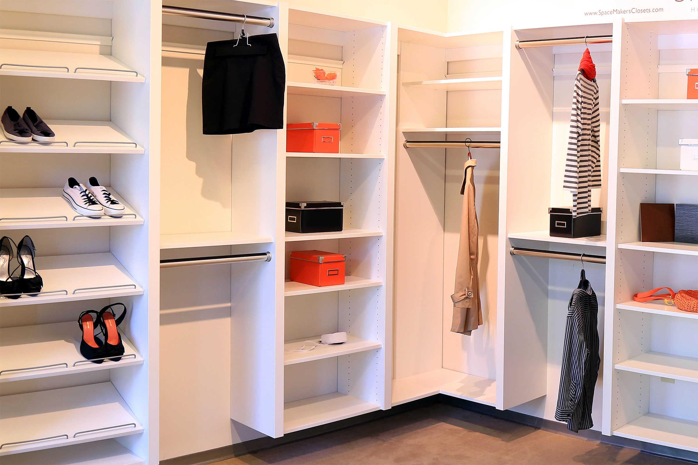 Custom Closets » Walk In Closets
