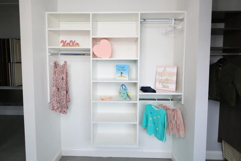 Reach in Child Closet