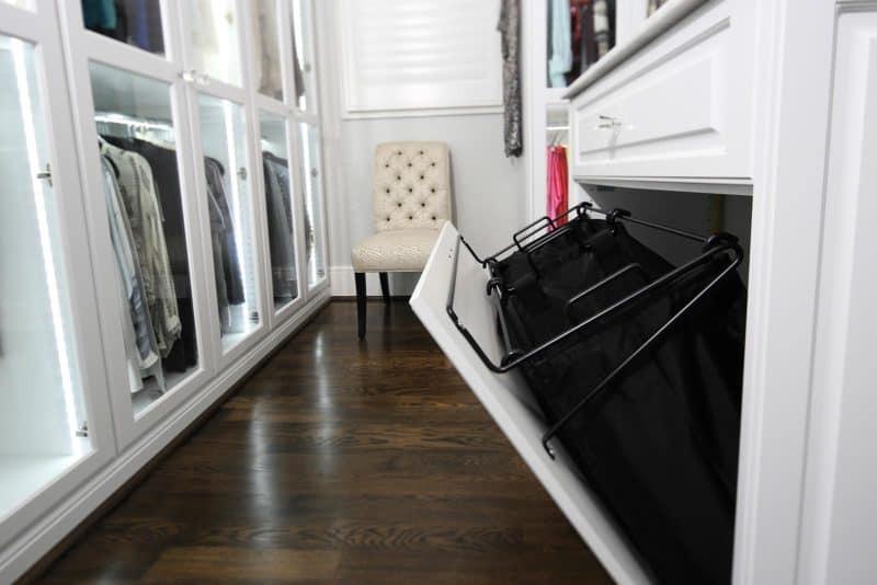 Closet Accessory Hamper Pullout