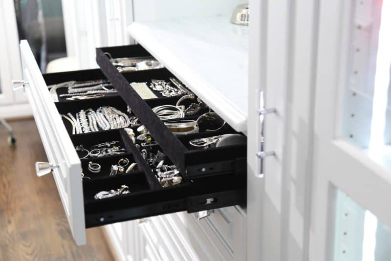Closet Accessory Jewelry Tray