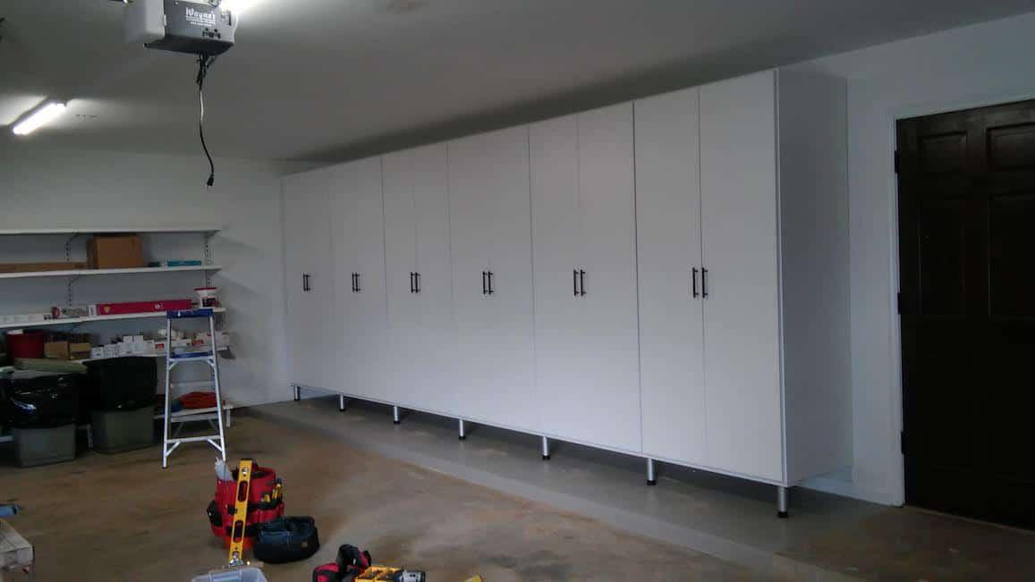 Garage Storage - White
