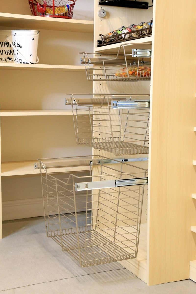 Pantry Accessory Wire Basket