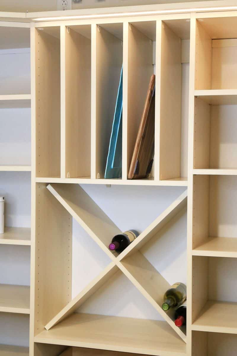 Pantry Wine Storage - Chateau Elm