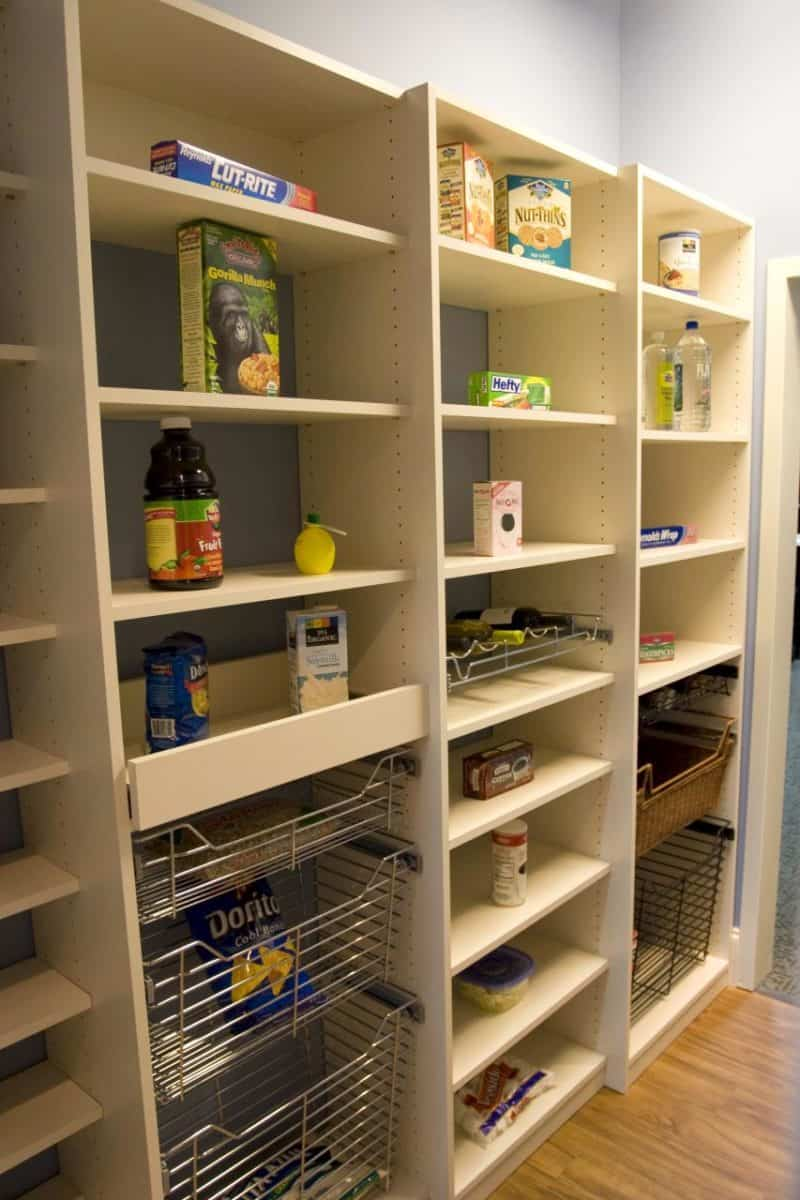 Pantry Storage Solutions Carolina Closets Custom Closets
