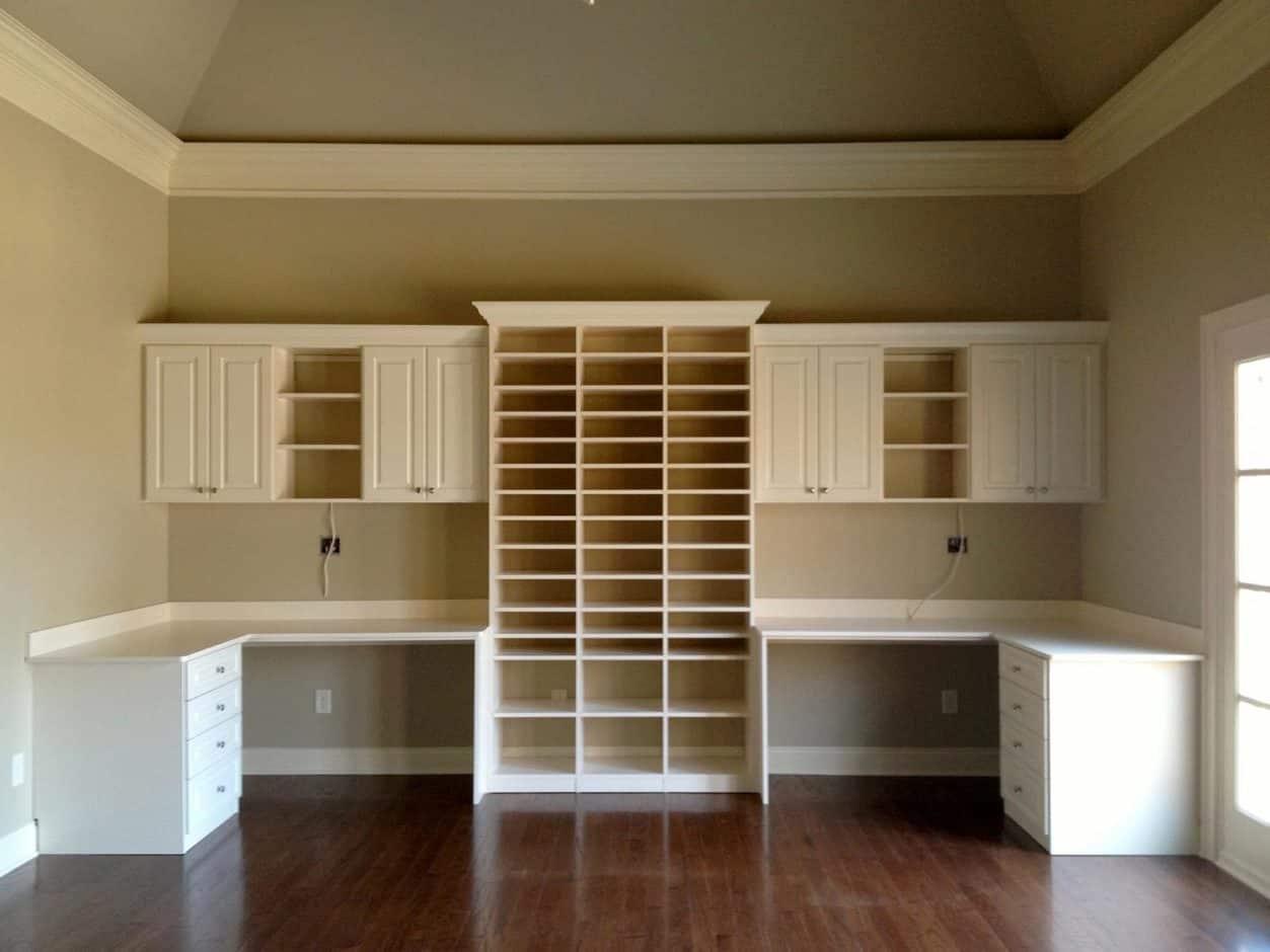 Office Desk Storage - White