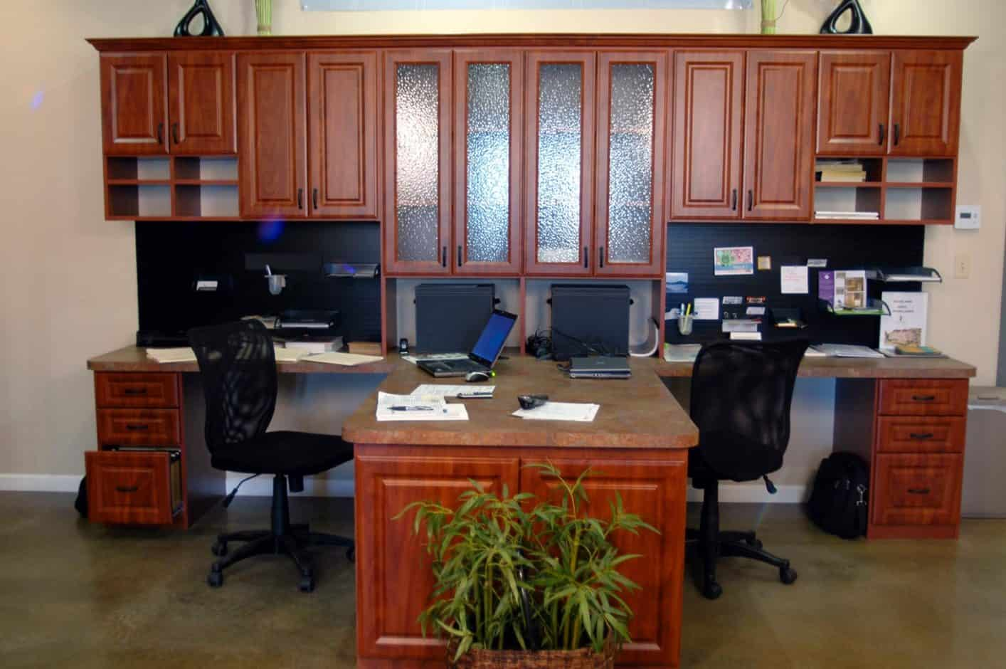 Office Desk Storage - Summer Flame