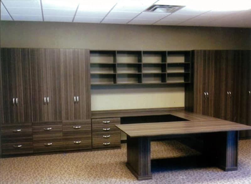 Office Storage Peninsula - Hudson Cherry