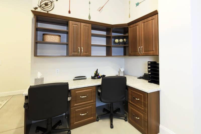 Office Storage - Habersham Elm